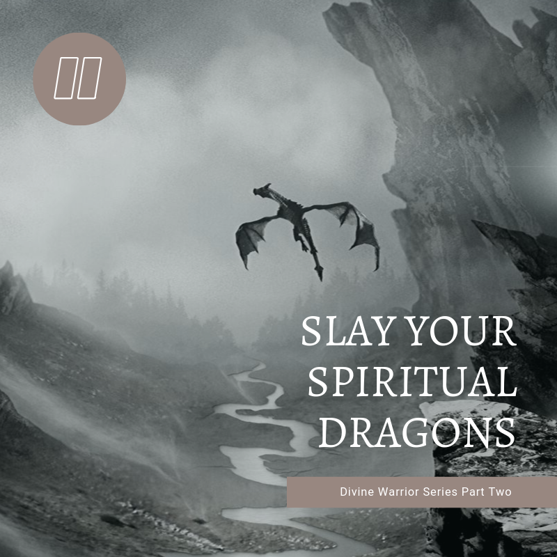 Slay your Spiritual Dragons: Divine Warrior Training Series Part Two